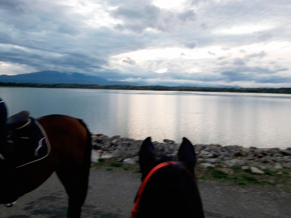 Situer et contacter le centre Equestre de val marie, Villeneuve de la Raho