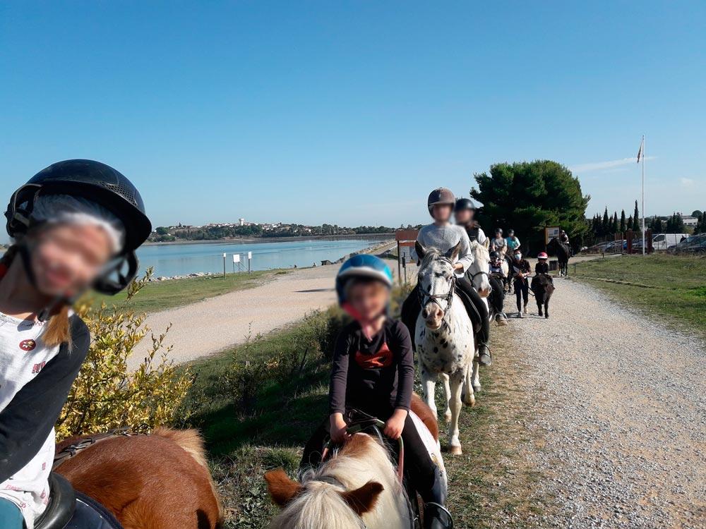 Sorties et randonnées à cheval