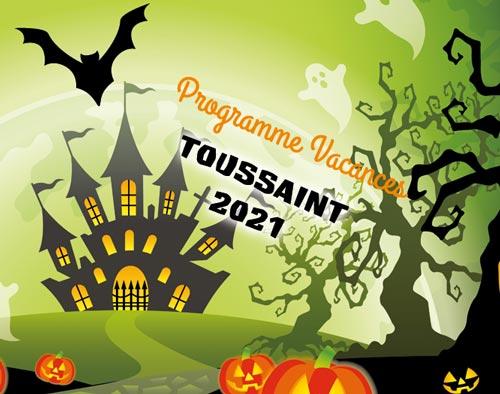 Vacances Toussaint 2021 - Halloween